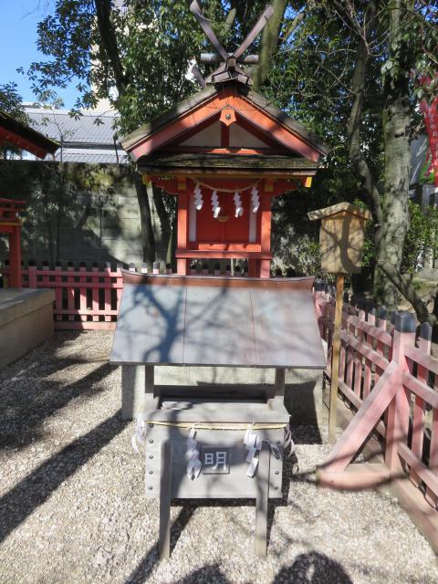 率川神社の末社