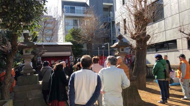 青葉台北野神社のお祭り