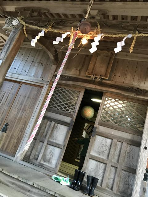 新潟県諏訪神社の本殿