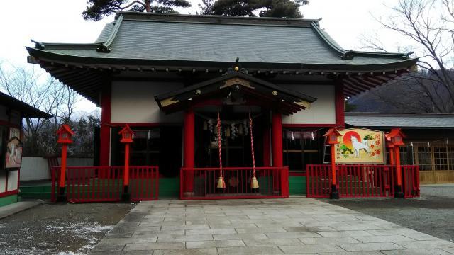 群馬県貴船神社の本殿