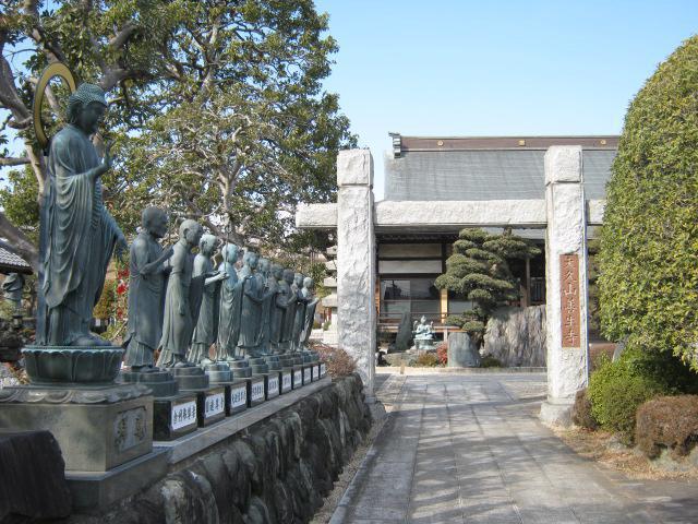 東京都善生寺の鳥居