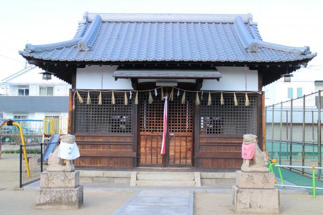 八幡太神宮の本殿