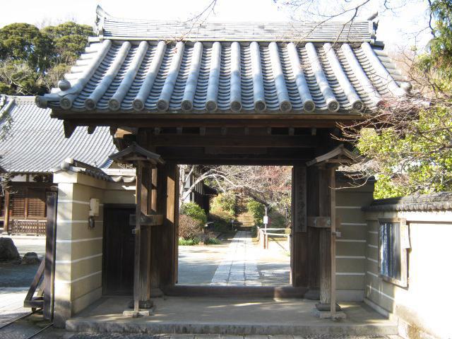 浄光明寺の山門