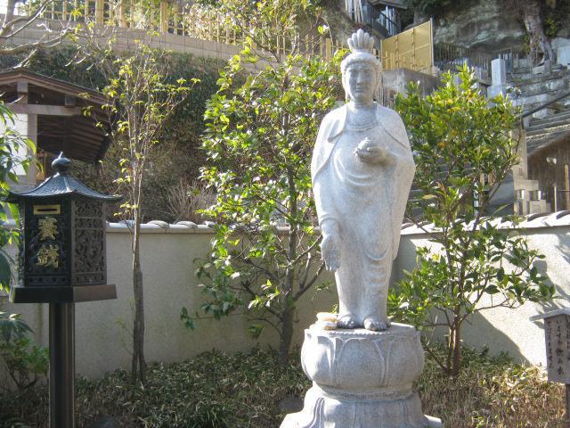 薬王寺(神奈川県鎌倉駅) - 仏像の写真