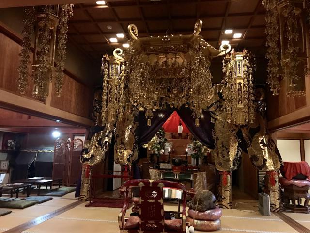 大龍寺の本殿