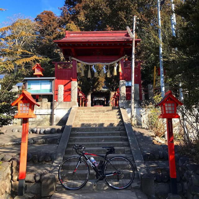 栃木県平出雷電神社の山門