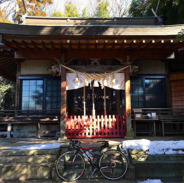 栃木県平出雷電神社の本殿