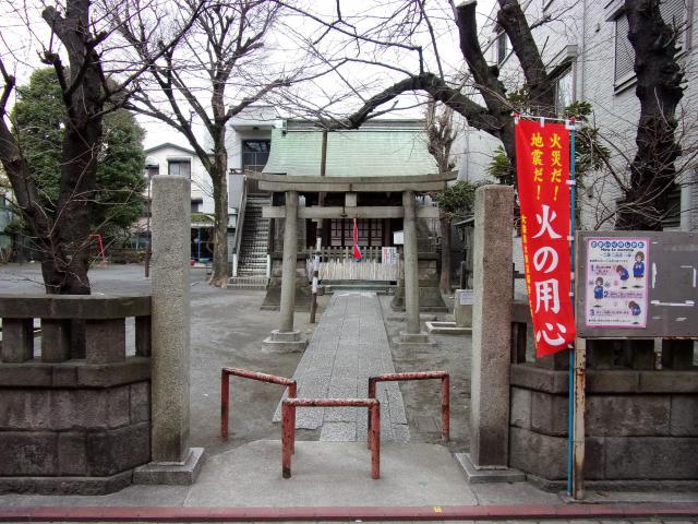 甘酒稲荷神社の鳥居