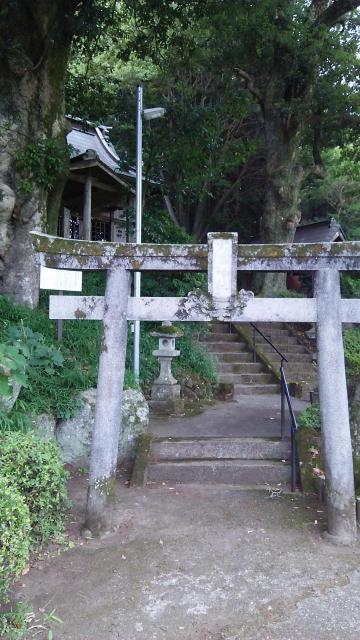 静岡県火雷神社の鳥居