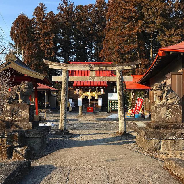 栃木県森友瀧尾神社の鳥居