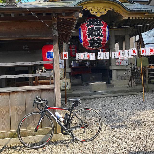 栃木県追分地蔵尊の本殿