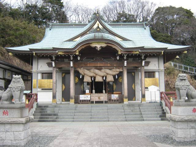 神奈川県本牧神社の本殿