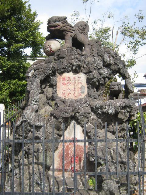 吾妻神社の狛犬