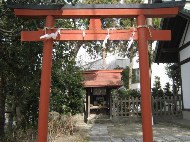吾妻神社(神奈川県山手駅) - 鳥居の写真