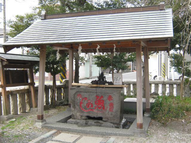 吾妻神社(神奈川県山手駅) - 手水舎の写真