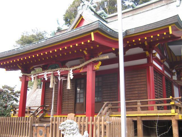 神奈川県若宮八幡宮の本殿