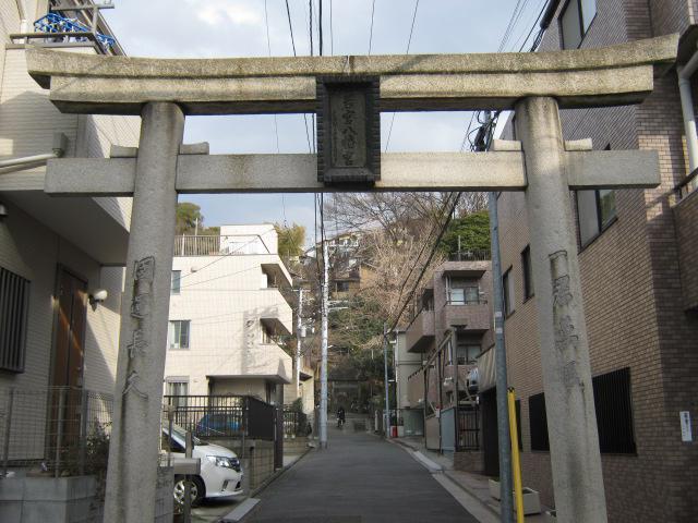 神奈川県若宮八幡宮の鳥居