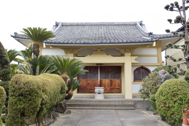 大阪府真観寺の本殿