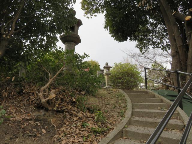 堅牢地神社の景色