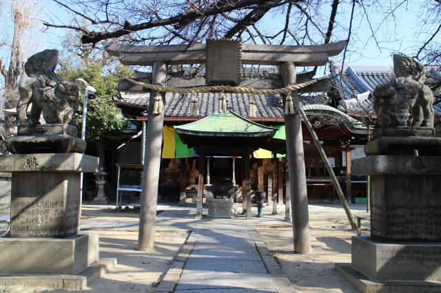 正圓寺の鳥居