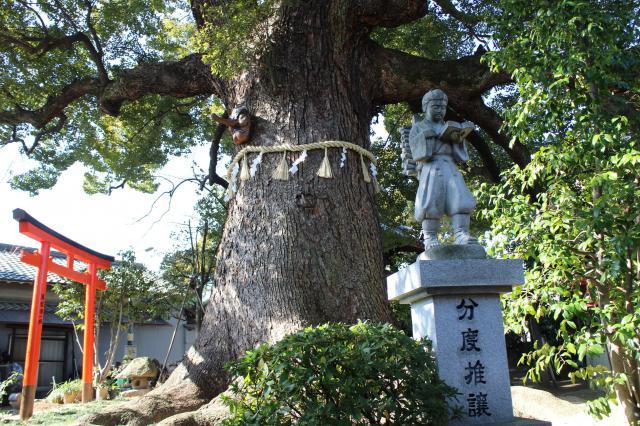法楽寺(大阪府南田辺駅) - 像の写真