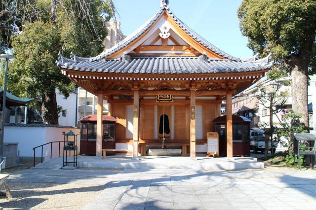 法楽寺(大阪府南田辺駅) - 本殿・本堂の写真