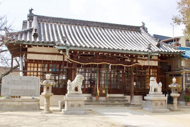 跡部神社の建物その他