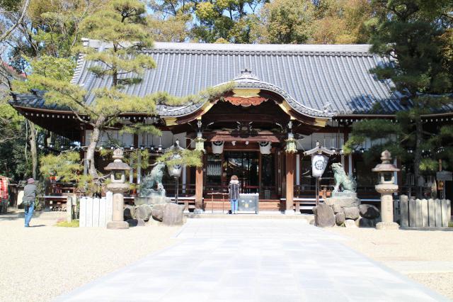 杭全神社の本殿