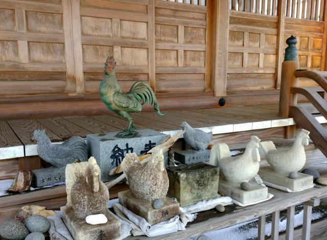 鳥之子神社の狛犬