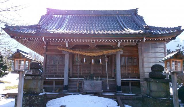 鳥之子神社の本殿