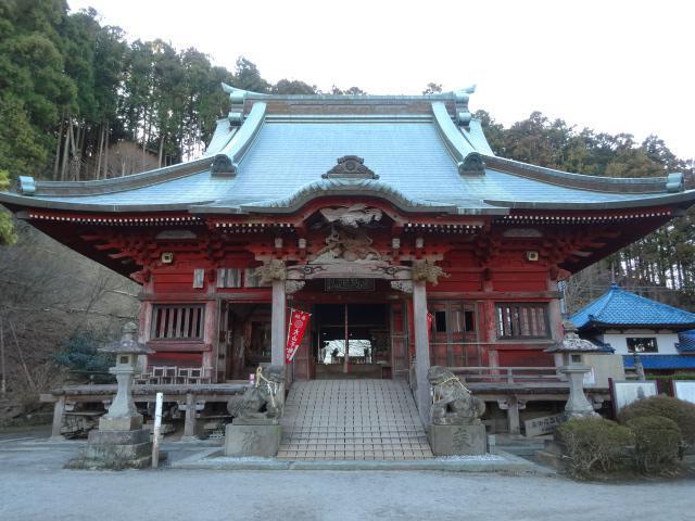 千葉県高蔵山 大山寺の本殿