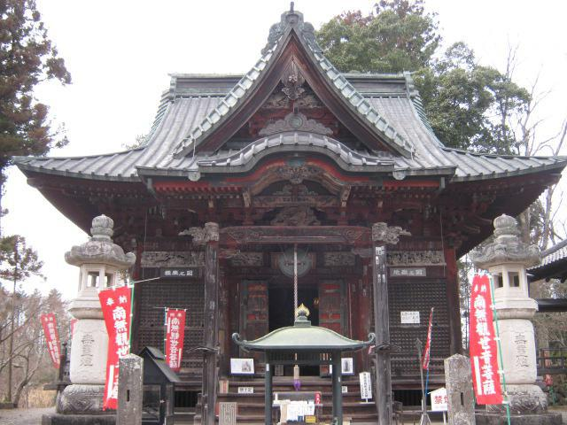 四萬部寺の本殿