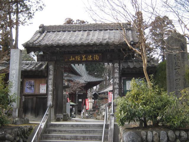 埼玉県四萬部寺の山門