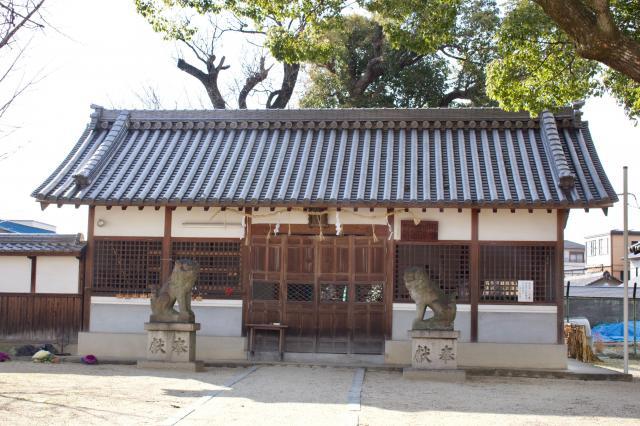 大阪府樟本神社の建物その他