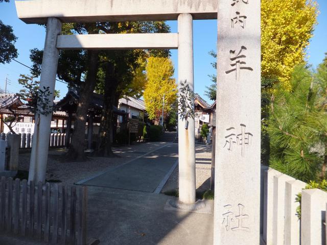 愛知県羊神社の本殿