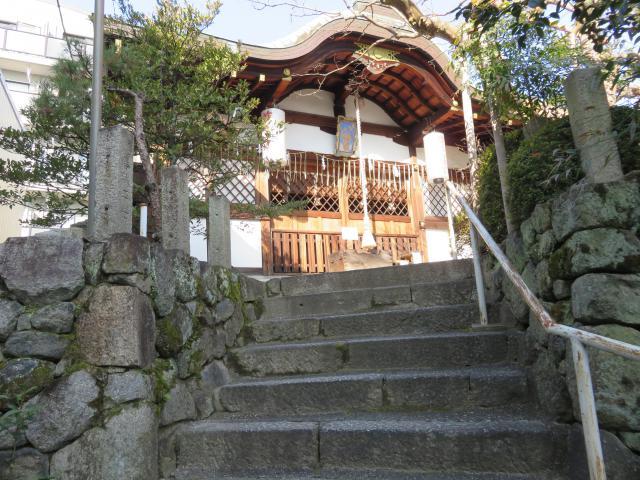 京都府首途八幡宮の本殿