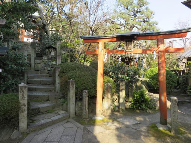 京都府首途八幡宮の鳥居