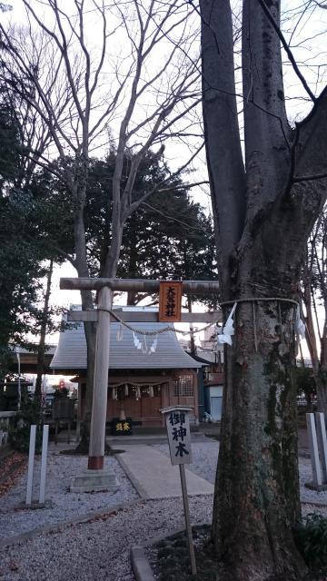 神奈川県神明大神宮の鳥居