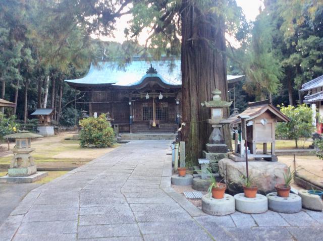 香川県水主神社の本殿