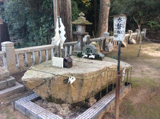 香川県水主神社の自然
