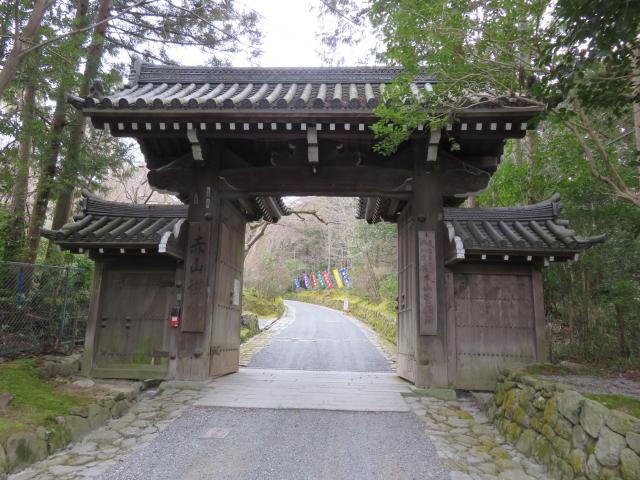 赤山禅院の山門
