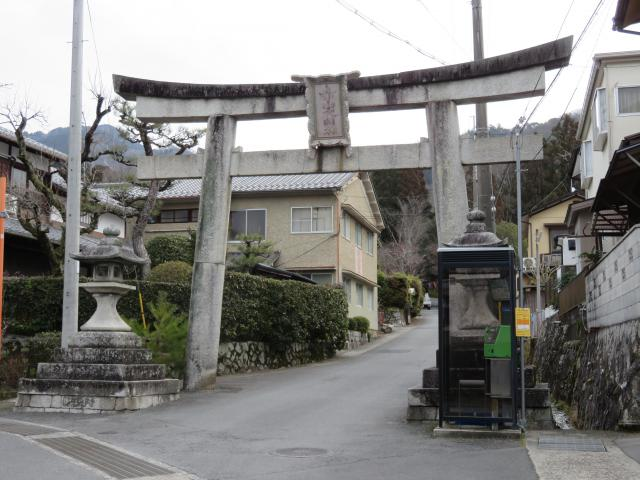 赤山禅院の鳥居