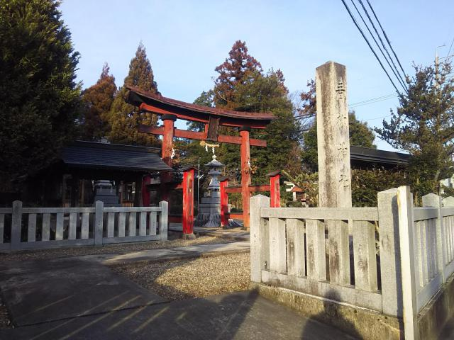 青柳神社の鳥居