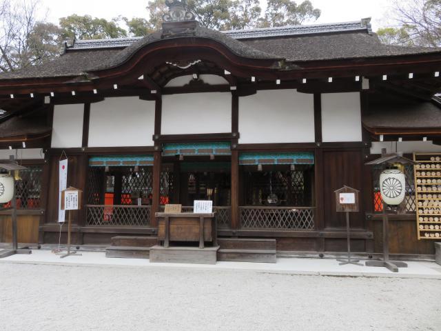 京都府河合神社の本殿