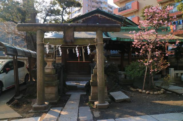 小野照崎神社の鳥居