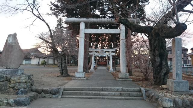 東京都出雲神社の鳥居