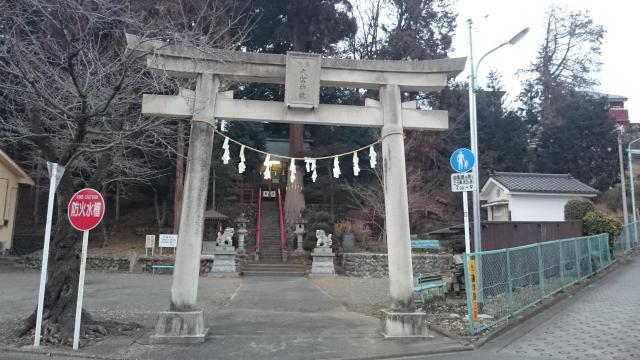 東京都大宮神社の鳥居