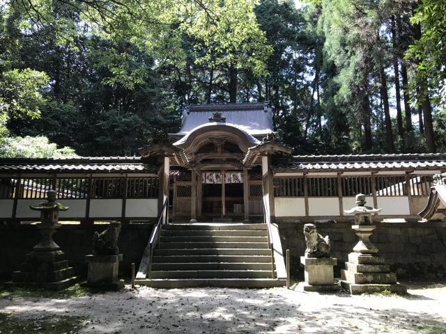 京都府走田神社の本殿