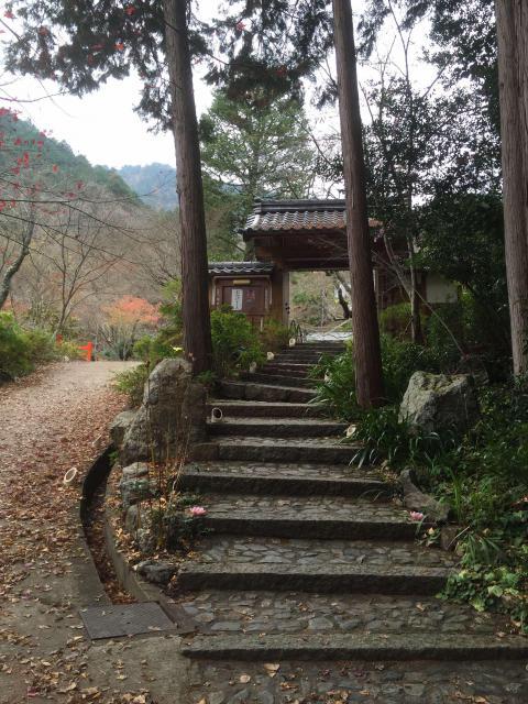 京都府神藏寺の山門