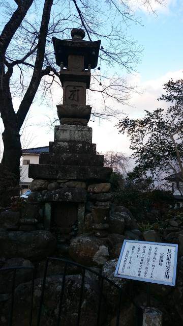 東京都常福寺の塔